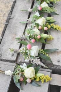 Boutonnières cortège - mariage - Artmaniafleur