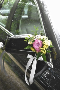 voiture -mariage - A&T - artmaniafleur
